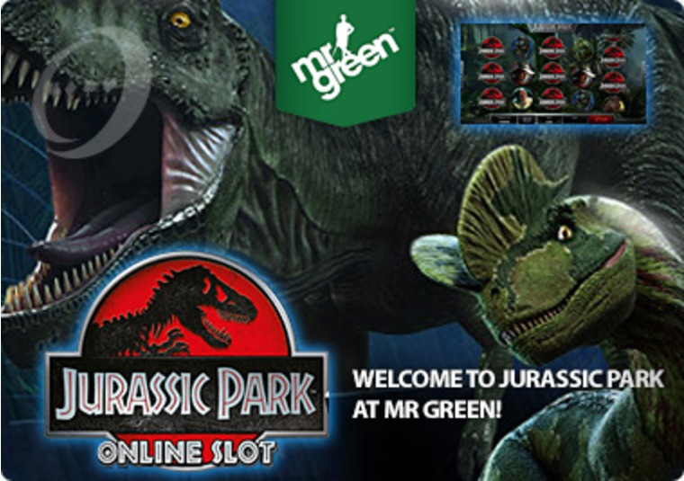 Welcome to Jurassic Park at Mr Green