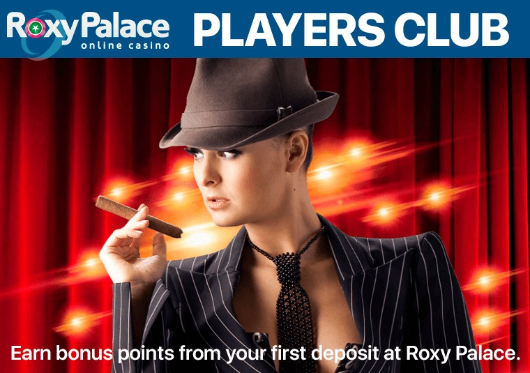 Earn bonus points from your first deposit at Roxy Palace