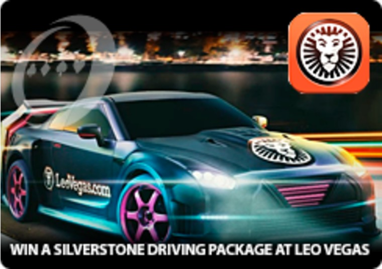 Win a Silverstone Driving package at Leo Vegas