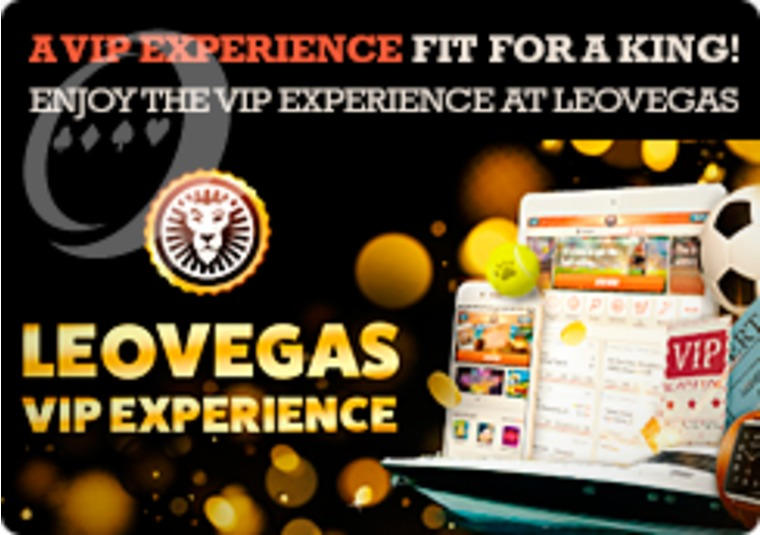 Enjoy the VIP experience at LeoVegas