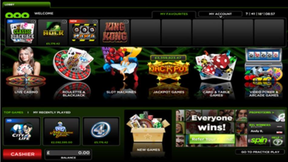 888 casino service