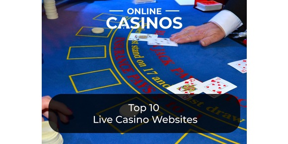 Top 10 Live Casino Websites