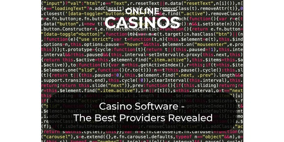 Casino Software: The Best Providers Revealed