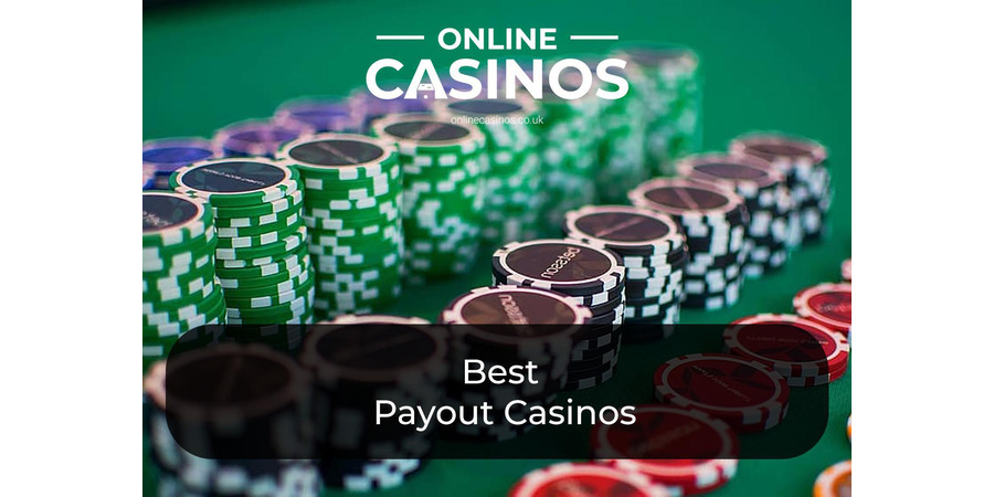 Rows of casino chips is something you'll find at one of the best payout online casinos in the UK