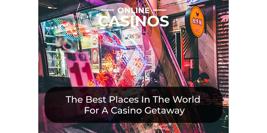 There are lots of great places you can take a casino holiday