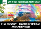 Win a trip to Ecuador at Mr Green