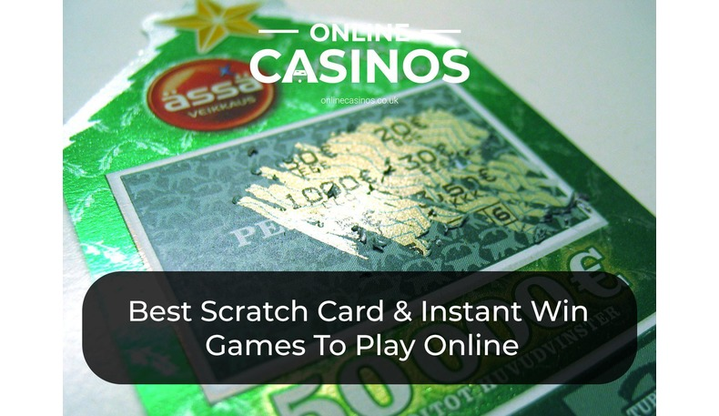 Play the best online scratch card and instant win games