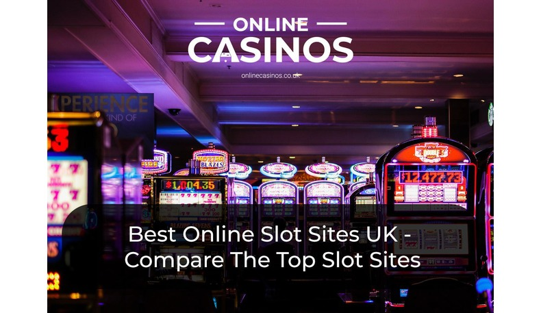 You will see more than five slot machines at the best slot sites